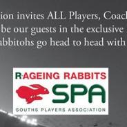 Rabbitohs vs Sea Eagles SPA Event